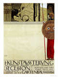 Poster for the First Art Exhibition of the Secession Art Movement Giclée par Gustav Klimt