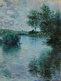 The Seine Near Vetheuil  1879