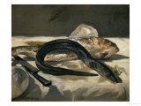 Eel and Red Mullet, 1864 Giclée par Edouard Manet