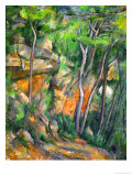 In the Park at Chateau Noir, 1898-1900 Giclée par Paul Cézanne