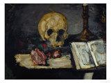 Skull and Candlestick  circa 1866