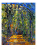 Bend in the Forest Road, 1902-1906 Giclée par Paul Cézanne