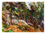 The Rocks in the Park of the Chateau Noir, 1898-1899 Giclée par Paul Cézanne