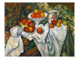 Pommes et oranges Giclée par Paul Cézanne
