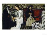 Tannhauser Overture, circa 1869 Giclée par Paul Cézanne