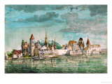 Innsbruck Seen Across the River Inn  1495