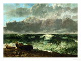 Stormy Sea (The Wave)  1870