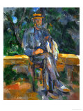 Seated Man, 1905-1906 Giclée par Paul Cézanne