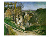 The House of the Hanged Man, 1873 Giclée par Paul Cézanne