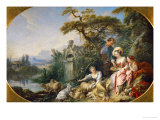 The Shepherd's Presents  (The Nest) Collection of Louis XV