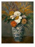 Dahlias, circa 1873 Giclée par Paul Cézanne