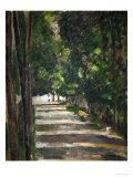 The Avenue (Park of Chantilly), circa 1879 Giclée par Paul Cézanne
