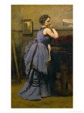 Lady in Blue  1874