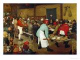 The Peasants' Wedding  1568