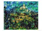 La Montaigne Sainte-Victoire, 1905 Giclée par Paul Cézanne