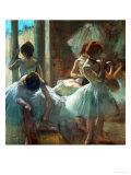 Dancers at Rest, 1884-1885 Giclée par Edgar Degas