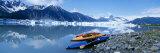 Kayaks by the Side of a River  Alaska  USA