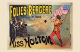 Folies-Bergeres  Miss Holtom