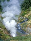 The Bolshoi / Greater Geyser Erupting  Geyser Valley  Kronotsky Zapovednik  Russia