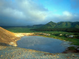 A Large Thermal Lake in the Collapsed Golovnino Volcano  Kurilsky Zapovednik  Russia
