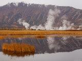Geysers and Fumeroles of the Uzon Volcano  Kronotsky Zapovednik Reserve  Kamchatka  Russia