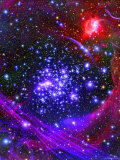The Arches Star Cluster from Deep Inside the Hub of Our Milky Way Galaxy