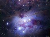 NGC 1977 is a Reflection Nebula Northeast of the Orion Nebula