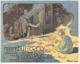 Madame Butterfly Tableau sur toile par Adolfo Hohenstein