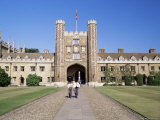 Trinity College  Cambridge  Cambridgeshire  England  United Kingdom