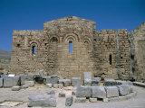 Byzantine Church of St Paul  Acropolis  Lindos  Rhodes  Greek Islands  Greece