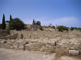 Remains of Roman Villas  Carthage  Unesco World Heritage Site  Tunisia  North Africa  Africa