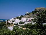 Lindos  Rhodes  Greek Islands  Greece