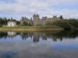Ashford Castle, Cong Area, County Mayo, Connacht, Eire (Ireland) Papier Photo par Bruno Barbier