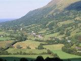 Glenariff Valley  Glens of Antrim  County Antrim  Northern Ireland  United Kingdom