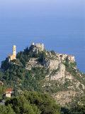 Eagle's Nest Village of Eze  Alpes-Maritimes  Cote d'Azur  Provence  French Riviera  France