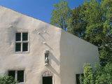 House Where Jeanne d'Arc, was Born, Village of Domremy-La-Pucelle, Vosges, Lorraine, France Papier Photo par Bruno Barbier