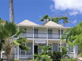 Nelson's House, Nelson's Dockyard, English Harbour, Antigua, Leeward Islands Papier Photo par Bruno Barbier