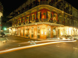 French Quarter at Night, New Orleans, Louisiana, USA Papier Photo par Bruno Barbier