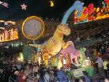 Defile Aux Lumieres  Carnival  Place Massena  Nice  Alpes-Maritimes  Provence  France