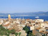 St. Tropez, Var, Cote d'Azur, Provence, French Riviera, France, Mediterranean Papier Photo par Bruno Barbier