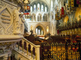 The Choir and Banners  St Patrick's Cathedral  Dublin  County Dublin  Eire (Ireland)