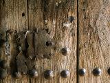 Close-Up of Door  Bieta Mercurios  Gabriel Et Raphael  Lalibela  Wollo Region  Ethiopia  Africa