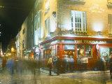 Bar Fleet Street, Temple Bar Area, Dublin, County Dublin, Eire (Ireland) Papier Photo par Bruno Barbier