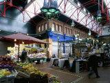 Covered Market, Great George Street Area, Dublin, County Dublin, Eire (Ireland) Papier Photo par Bruno Barbier