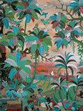 Painting, Neka Museum, Ubud, Island of Bali, Indonesia, Southeast Asia Papier Photo par Bruno Barbier
