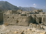 Ghost Town of Izki  Near Nizwa  Sultanate of Oman  Middle East
