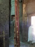 Bieta Maskal (House of the Cross)  Town of Lalibela  Wollo Region  Ethiopia  Africa