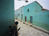 Village of Adua  Tigre Region  Ethiopia