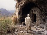 Christian Monastery Church  Gabriel Wuken  Mount Workamba  Tambien  Tigre Provice  Ethiopia  Africa