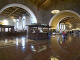 Union Station  Railroad Terminus  Downtown  Los Angeles  California  USA